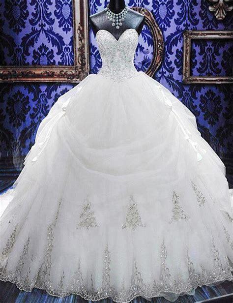 wedding gown with sweetheart corset wedding dress luxury beaded lace