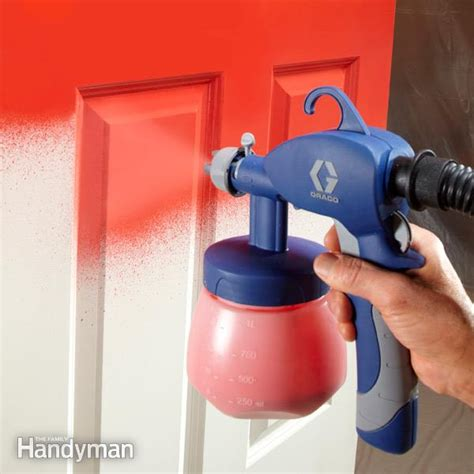 spray paint review paint sprayer reviews the family handyman