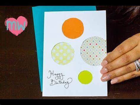 innovative ideas for greeting cards diy creative birthday card