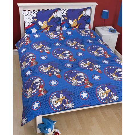 sonic bed set sonic the hedgehog bed set sonic speed bedding sheet set