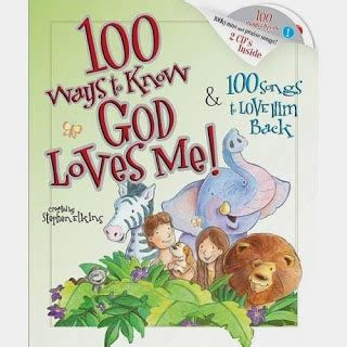 well known picture books christian children s book review 100 ways to god