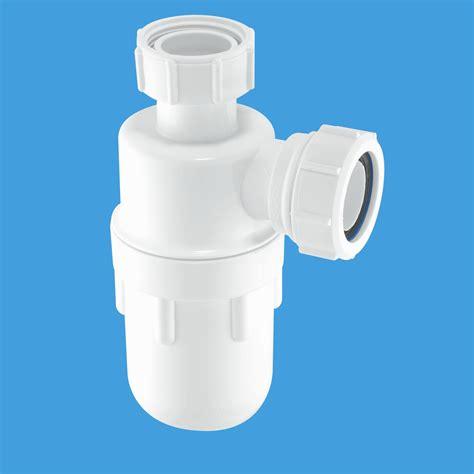 kitchen sink waste trap mcalpine 1 1 4 32mm basin waste bottle trap a10