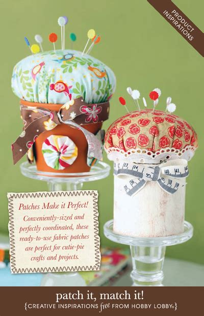 hobby lobby craft projects hobbylobby projects patch it match it