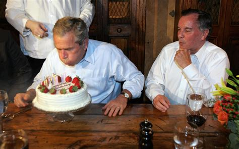 george bush birthday happy birthday george w bush a look back at some of his