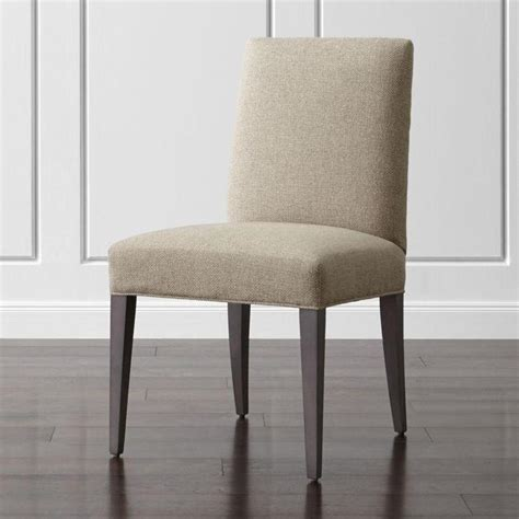 dining upholstered chairs beige armless upholstered dining chair
