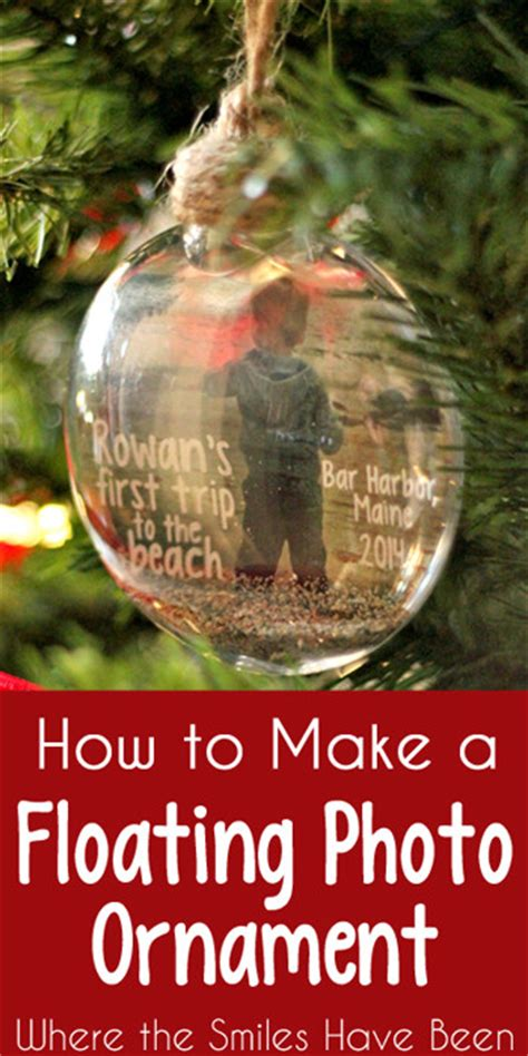 photo ornaments to make 40 diy ornaments to decorate the tree