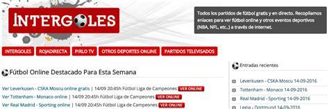 ver partidos de futbol online sin cortes ver futbol online gratis sin cortes 2016 videojeansmann