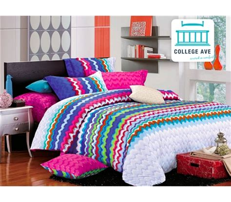 rainbow bedding rainbow splash xl comforter set college ave