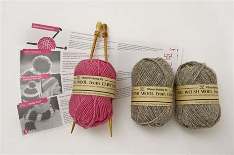 knitted kits oliver s knitting kit and other great wool packs