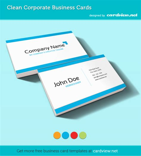 to make business cards for free 20 free business card templates inspirationfeed