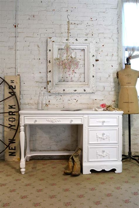 white shabby chic desk shabby chic desk