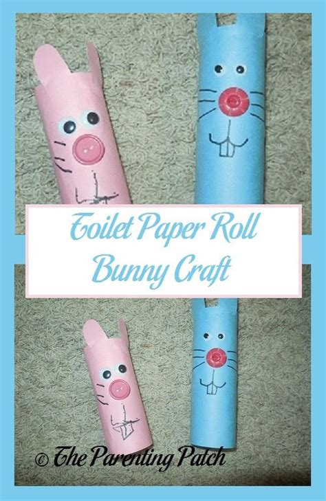 toilet paper roll bunny craft toilet paper roll bunny craft parenting patch