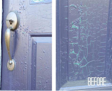 exterior metal doors how to paint a metal exterior door my colortopia
