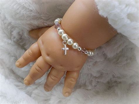 how to make baby jewelry christening baptism baby gifts baby bracelets newborn