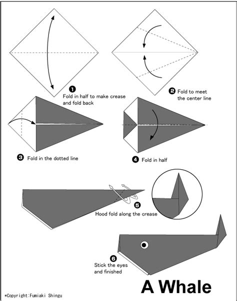 Whale Easy Origami For