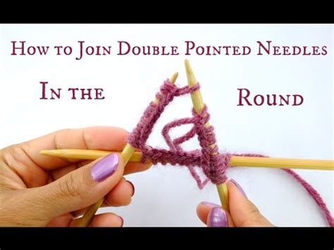 joining in the knitting how to join pointed needles in the beginner