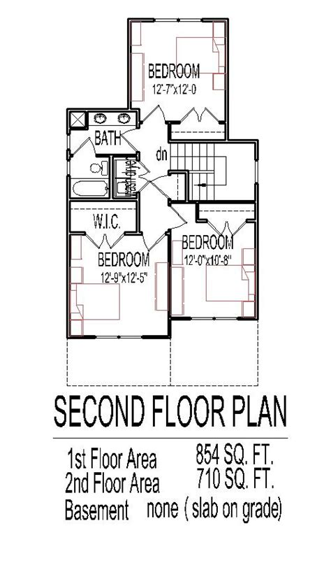 small 3 story house plans small 2 story 3 bedroom house plans home deco plans