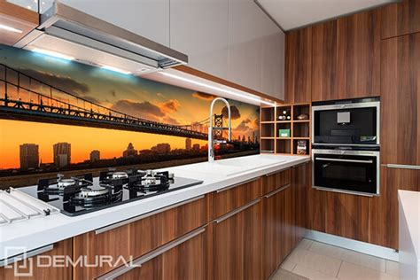 wall murals for kitchen tired of boring kitchen backslash maybe it s time for