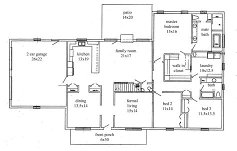 open floor plan ranch homes ranch style open floor plans 28 images ranch style