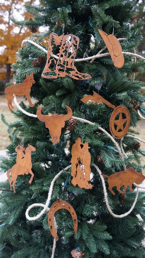 western tree ornaments 17 best ideas about western decorations on