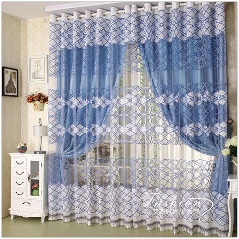 curtains design for bedroom 4 styles of blue and white curtains