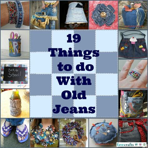 craft things to do with what to do with 19 recycled crafts with denim