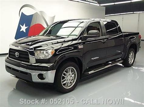 manual cars for sale 2008 toyota tundramax seat position control buy used 2008 toyota tundra xsp crew max leather 20 quot wheels 71k texas direct auto in stafford