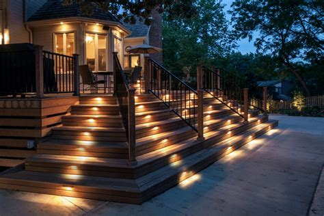 deck lighting ideas to get warm and cozy atmosphere homestylediary