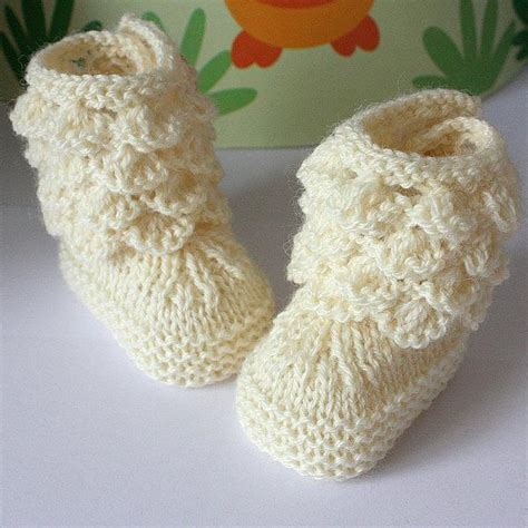free baby boots knitting pattern sea shells baby boots by oasidellamaglia craftsy