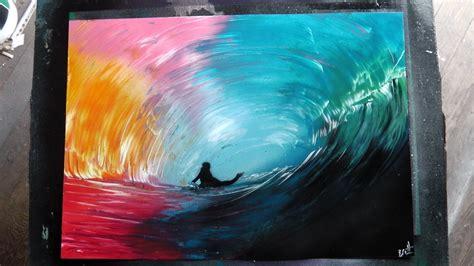 spray paint rainbow how to spray paint the rainbow surfer