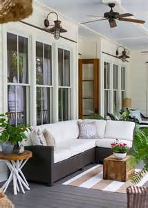 Charleston Porch Swing by 27 Screened And Roofed Back Porch Decor Ideas Shelterness