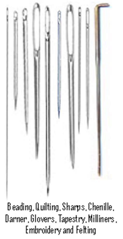 beading needle size chart beading needle
