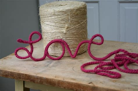 wire craft projects make wire and yarn word 187 dollar store crafts