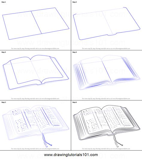 how to draw book how to draw an open book printable step by step drawing