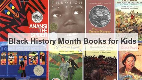 history picture books black history month books for activities for