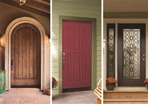 types of exterior doors what are the different types of exterior doors offered by