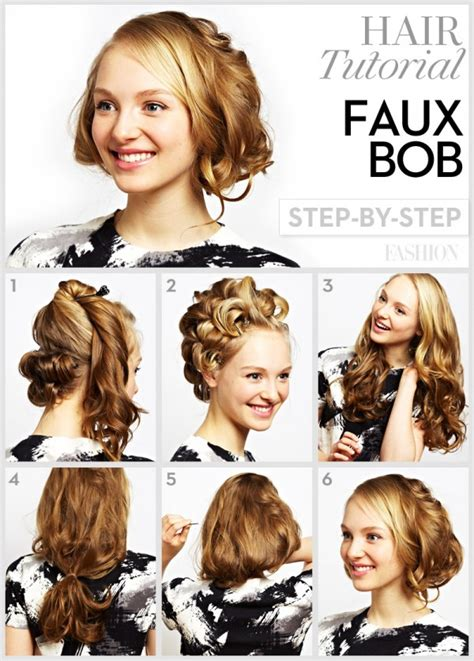 step by step guide to a beauitful hairstyle 10 pretty bob tutorials you must love for the season