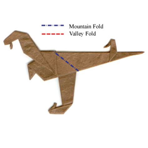 how to make an origami velociraptor how to make a simple origami velociraptor page 12