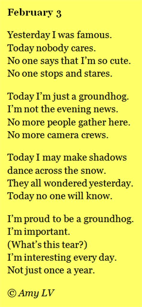 groundhog day poetry the poem farm groundhog day poem the day after