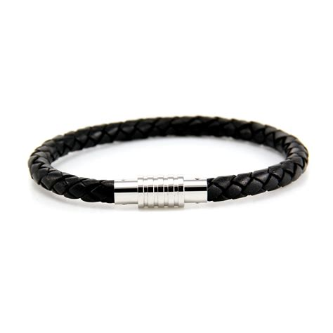 black bracelet mens bracelets
