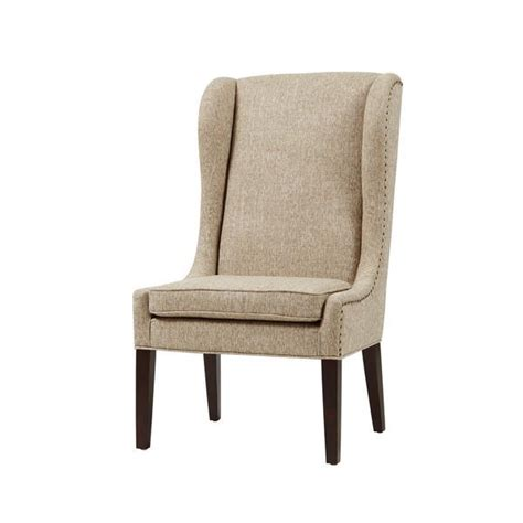 wing dining chairs park sydney beige traditional wing dining chair