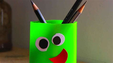 pen stand craft for how to make a pen holder for diy crafts
