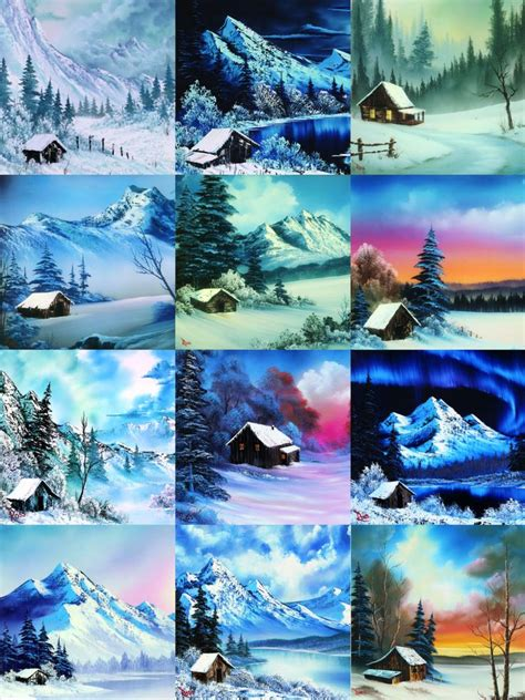 bob ross paintings for sale pbs best 25 bob ross paintings ideas on bob ross