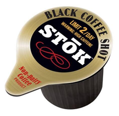 Caffeine in Stok Black Coffee Shots