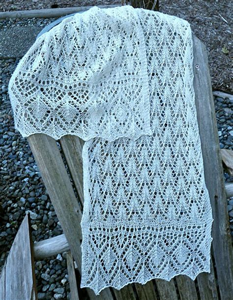 free estonian lace knitting patterns estonian flamingo lace stole or scarf knitting patterns