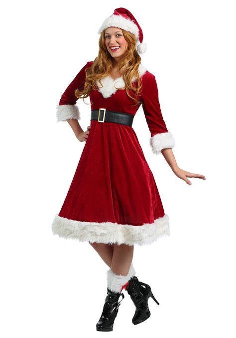 santa dresses for plus size santa claus sweetie costume for