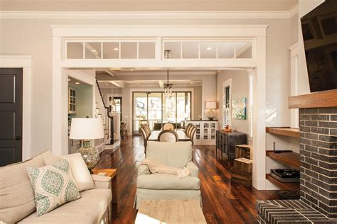 open kitchen dining and living room floor plans decatur whole house renovation atlanta home improvement