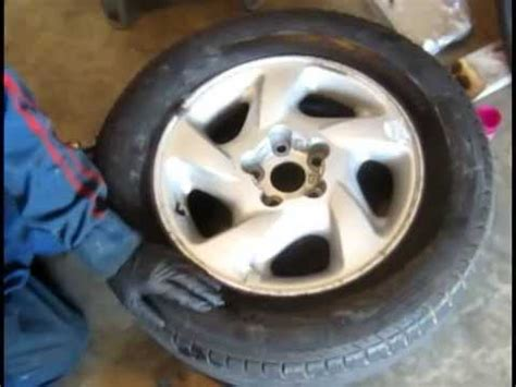 how to fix tire bead leak setting a tire bead with an air compressor funnycat tv