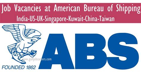 new vacancies at american bureau of shipping abs