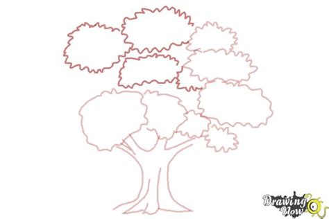 how to draw a realistic tree step by step how to draw a realistic tree drawingnow